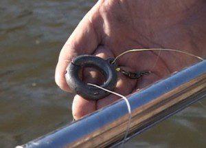 Ловля рыбы на кольцо - оснастка - преимущества и недостатки