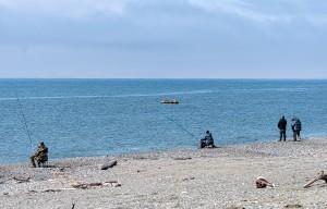 Ловим камбалу с берега в Белом море