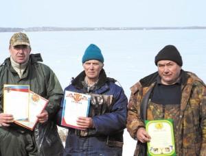 Рыбаки Подмосковья встретились на озере Сенеж